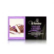 Whitakers Plain Chocolate Violet Cremes 150g